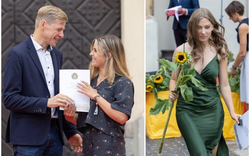 Vilniuje pasveikinti šimtukininkai