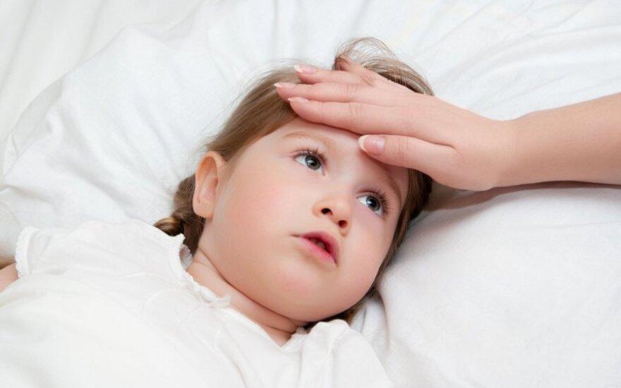 Gydytojas pataria, ką daryti, kad vaikai rečiau sirgtų