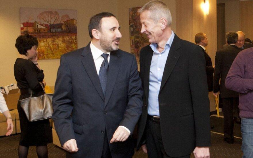 Arūnas Gelūnas, Gediminas Kazlauskas