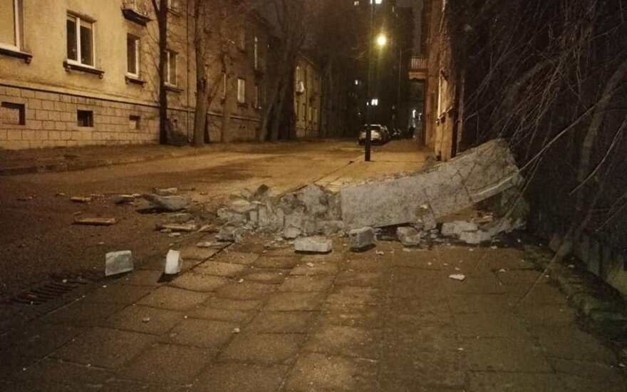 Storm in Lithuania kills woman