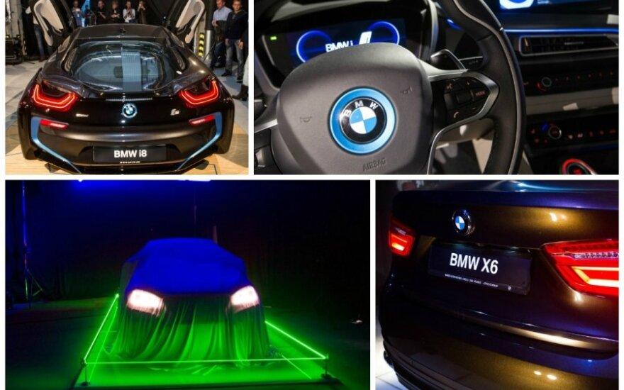 BMW X6 pristatymas