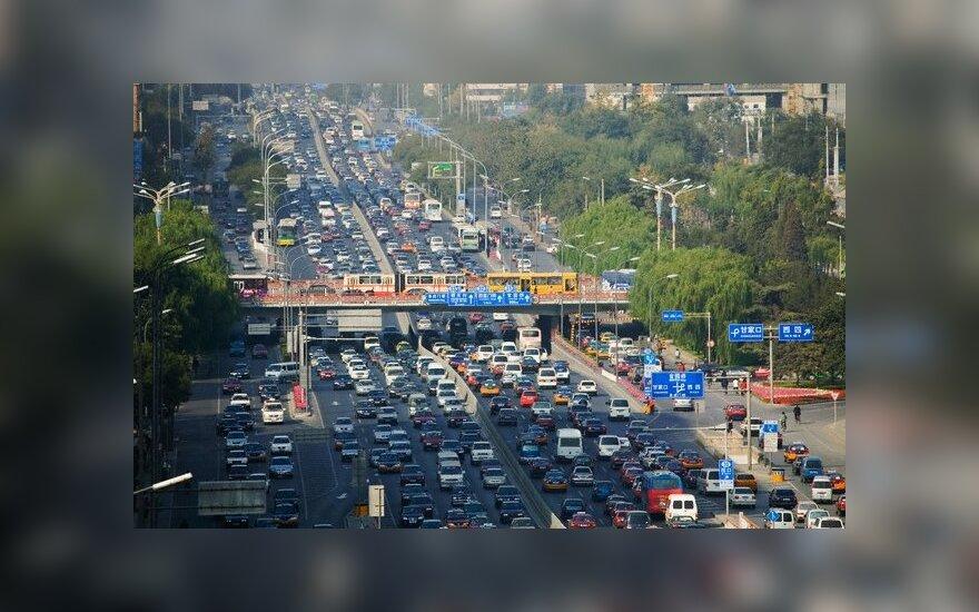 Pekinas tapo pirmuoju miestu Kinijoje, kur naudotų automobilių parduodama daugiau nei naujų