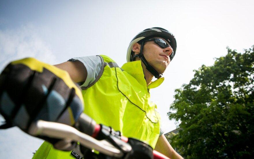 Šeštadienį dalyvavo dviračių lenktynėse – negali suprasti pėsčiųjų neatidumo