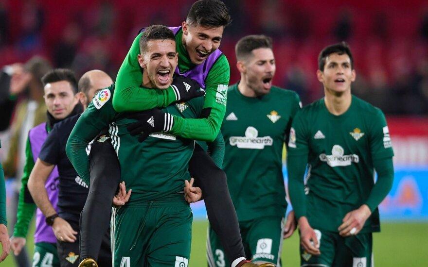 """Ispanijoje – dramatiška """"Real Betis"""" pergalė"""
