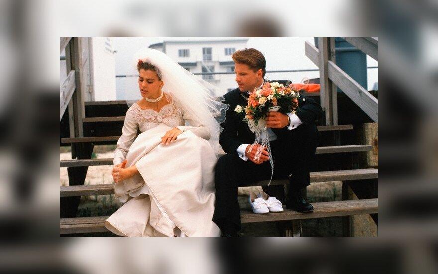 50 tūkst. Lt kainuojančioms svajonių vestuvėms tenka imti paskolą