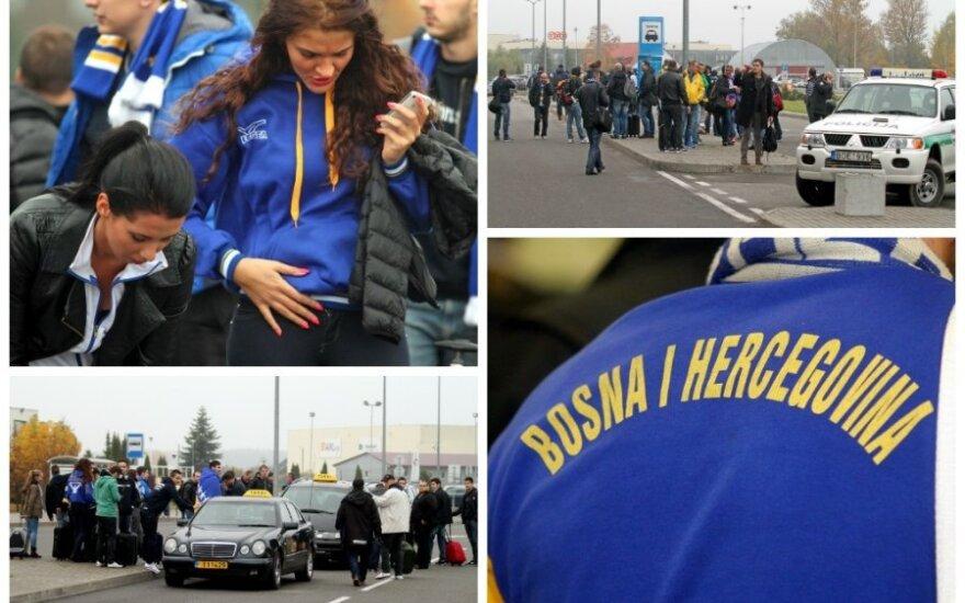Bosnių sirgaliai atvyko į Kauną