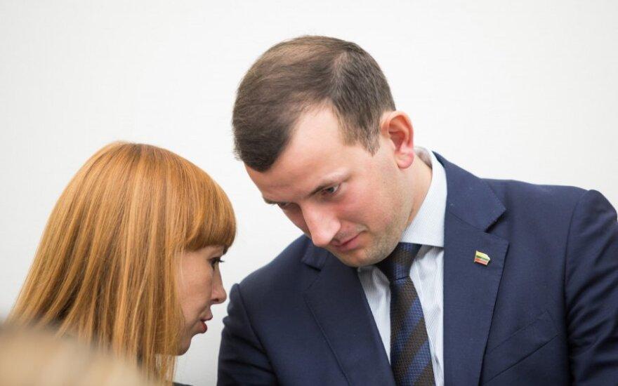 Jurgita Petrauskienė, Virginijus Sinkevičius