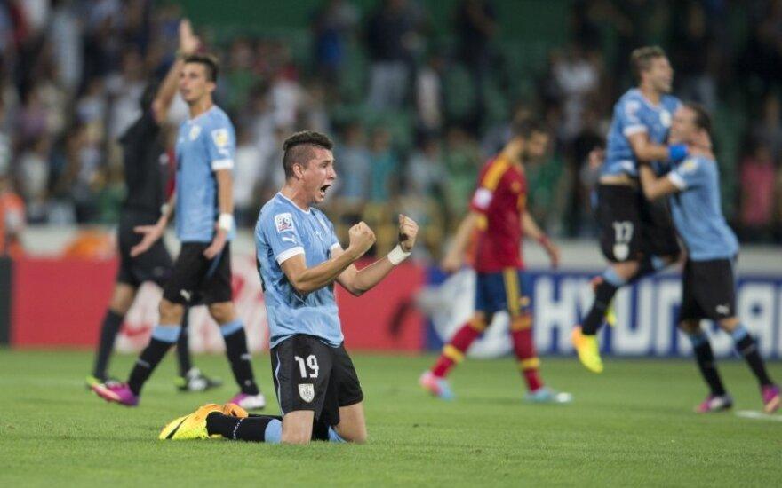 Urugvajaus U-20 rinktinės triumfas