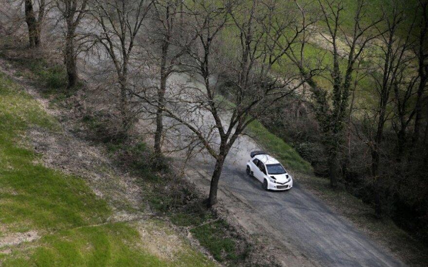 Lietuvis per Lenkiją automobiliu keliavo su neįprastu keleiviu