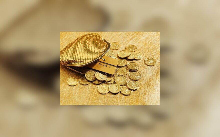 Vilniečių pajamos - beveik 350 Lt didesnės