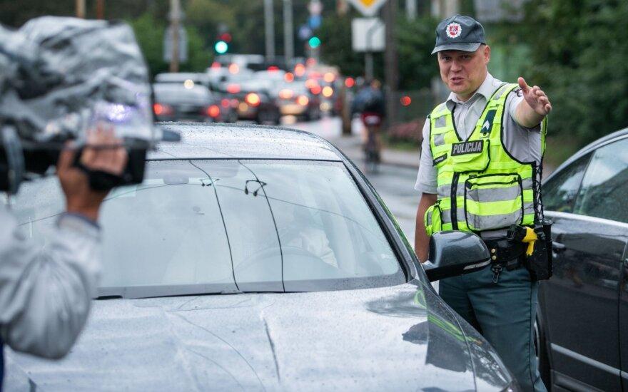 Išskirtinis policijos reidas