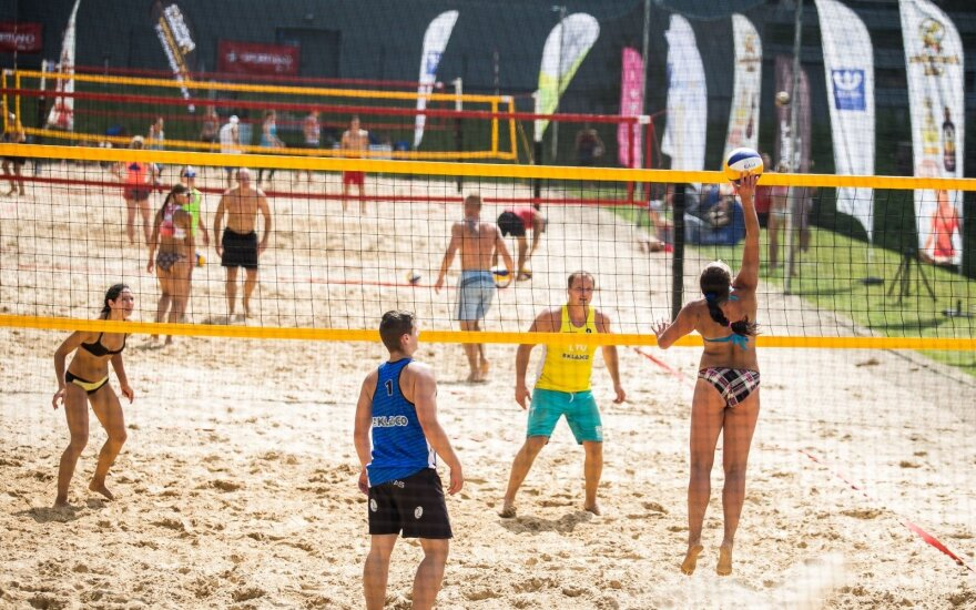 DELFI sporto centre karaliavo paplūdimio tinklinis