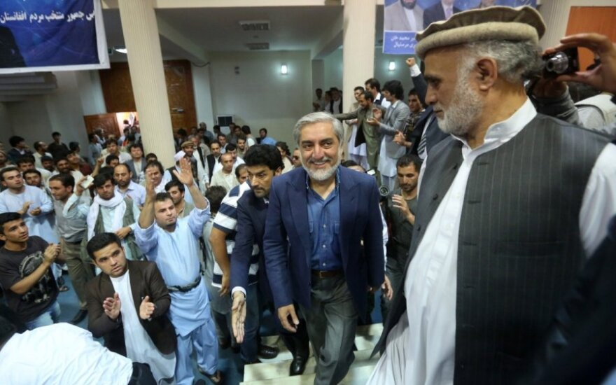 Kandidatas Afganistano prezidento rinkimuose Abdullah Abdullah