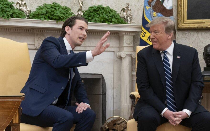 D. Trumpo susitikimas su S. Kurzu