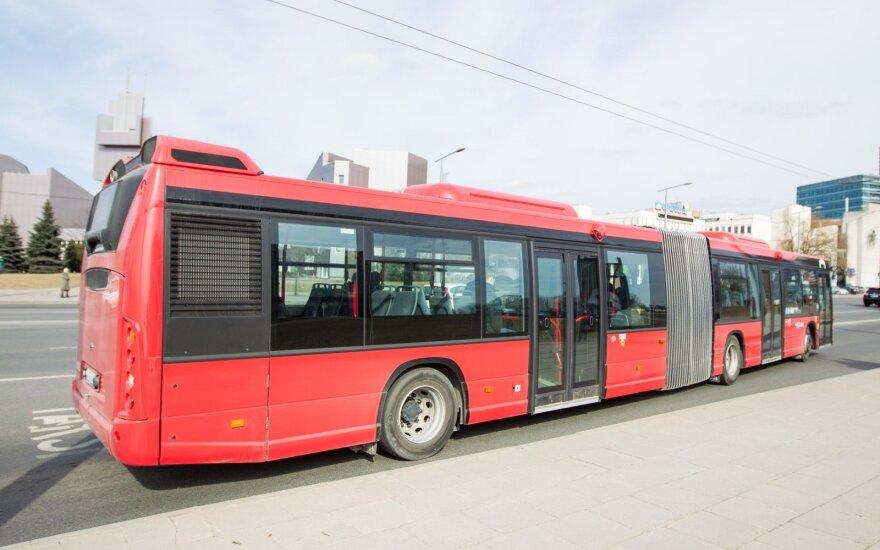 Vilniuje svarstoma nemokamo viešojo transporto idėja per visas valstybines šventes
