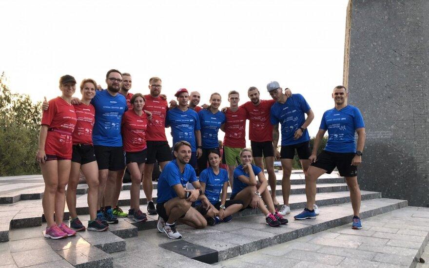 Bėgimas Nida - Vilnius
