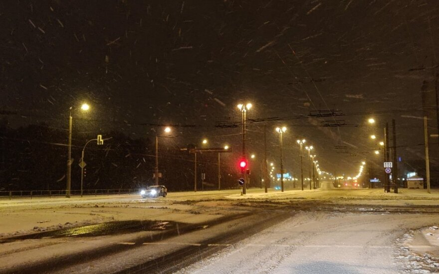Sekmadienio snygis Vilniuje