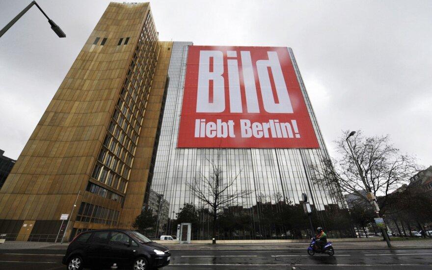"""Vokiečių leidinys """"Bild"""" ignoruoja rusų olimpinę rinktinę"""