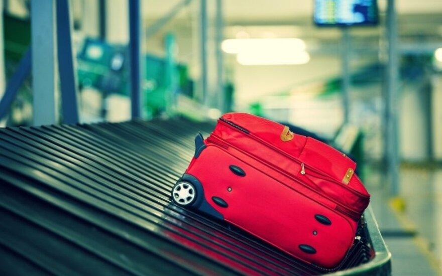 Oro uostai, kuriuose didžiausia tikimybė prarasti bagažą