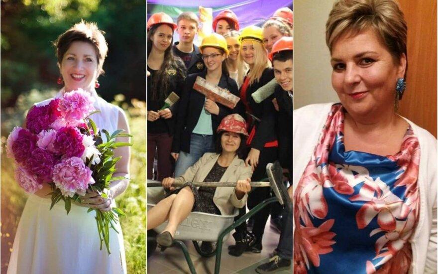 Šiuo metu rinkimuose lyderiaujančios mokytojos (iš kairės į dešinę): Audronė Rupšienė, Nijolė Mankauskienė, Ingrida Valasevičienė