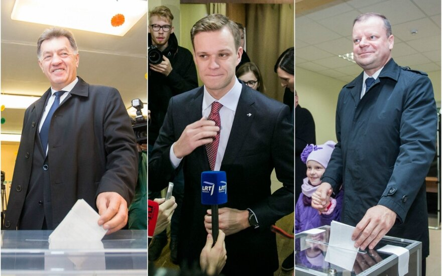 Algirdas Butkevičius, Gabrielius Landsbergis ir Saulius Skvernelis
