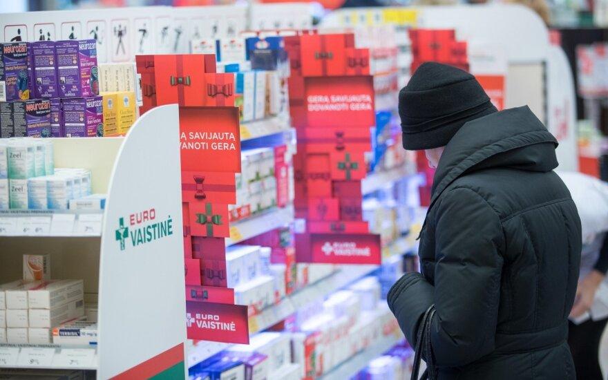 """""""Vilniaus prekybos"""" vaistinių tinklas plečiasi Švedijoje"""