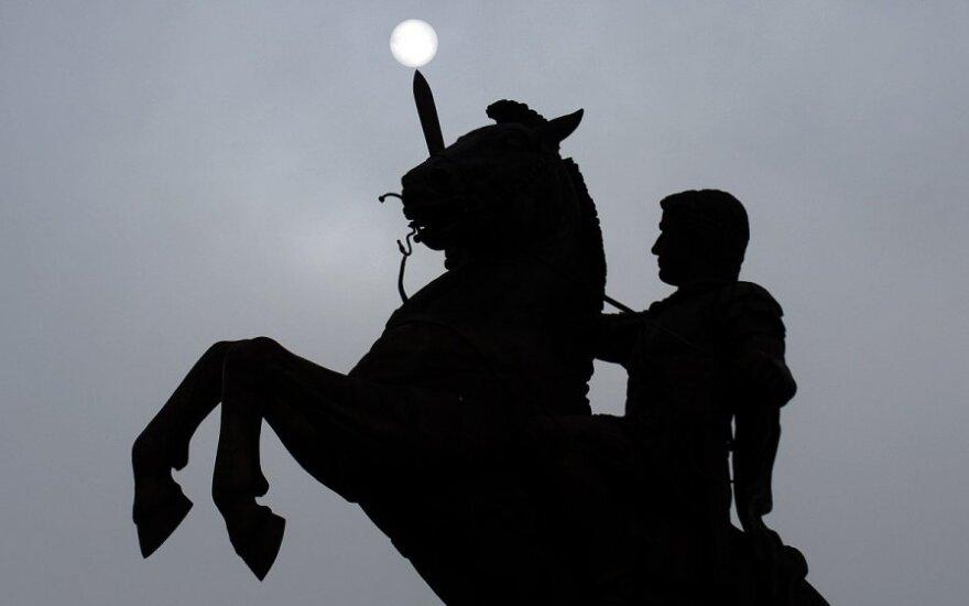 Aleksandro Makedoniečio statula