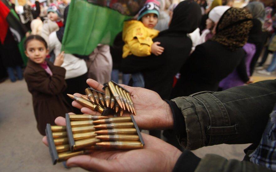 Macrono planas nutraukti Libijos konfliktą tik pablogino padėtį