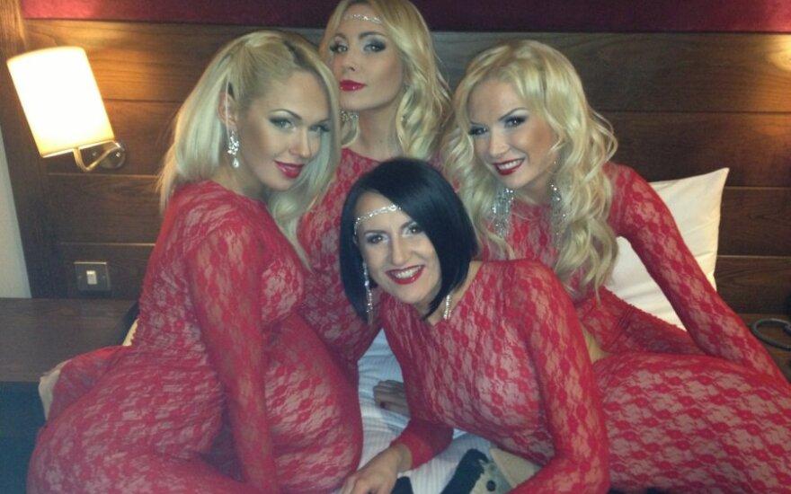 """POP Ladies"" Airijoje"