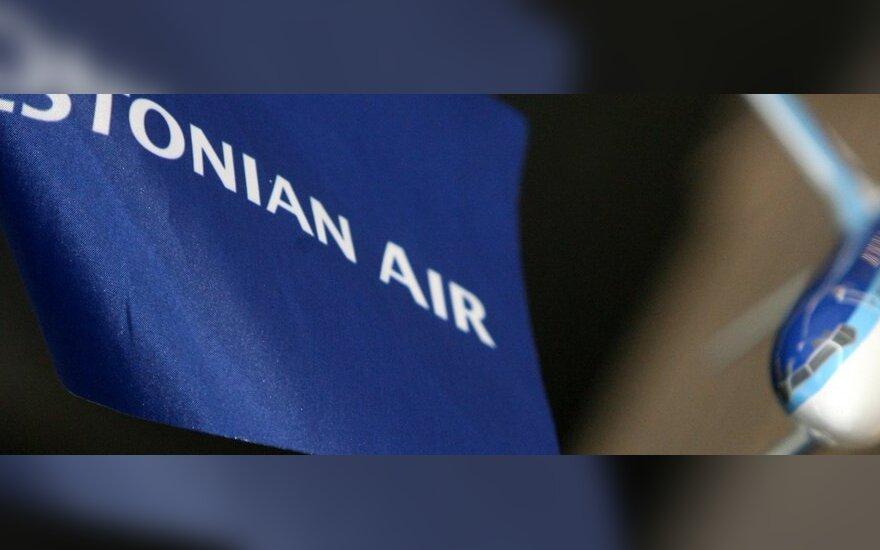 """""""Estonian Air"""" iš Vilniaus dažniau skraidys į Taliną"""