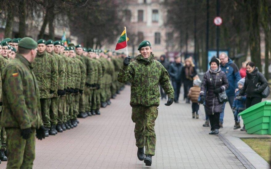 Karaliaus Mindaugo husarų bataliono kariai / Foto: Tomas Stasevičius