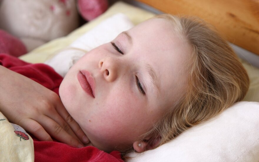 Dažna vaikų liga gali sukelti pavojų gyvybei