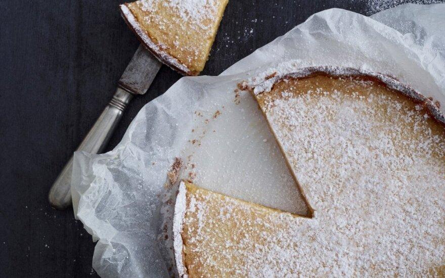 Kreminis citrinų pyragas
