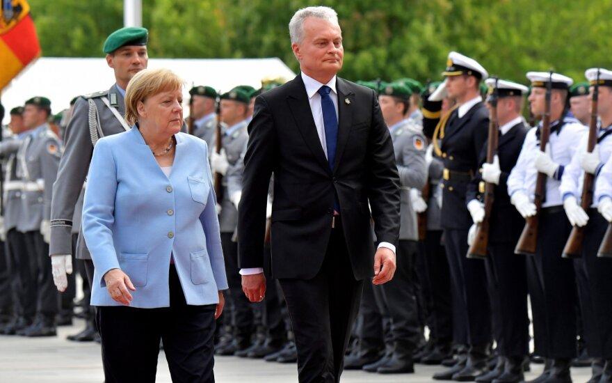 Prezidentas Vokietijoje susitiks su kadencija baigiančia Merkel
