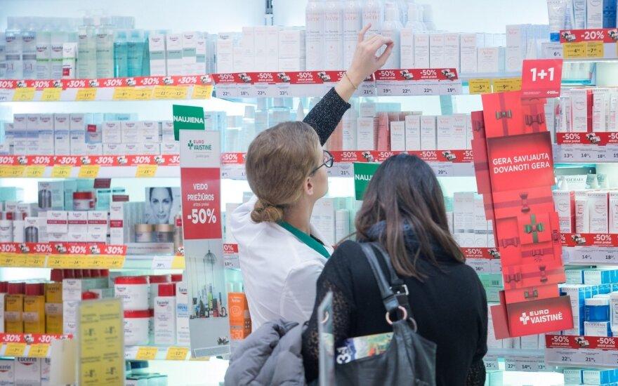 """""""Eurovaistinės"""" vaistininkei nustatytas koronavirusas"""