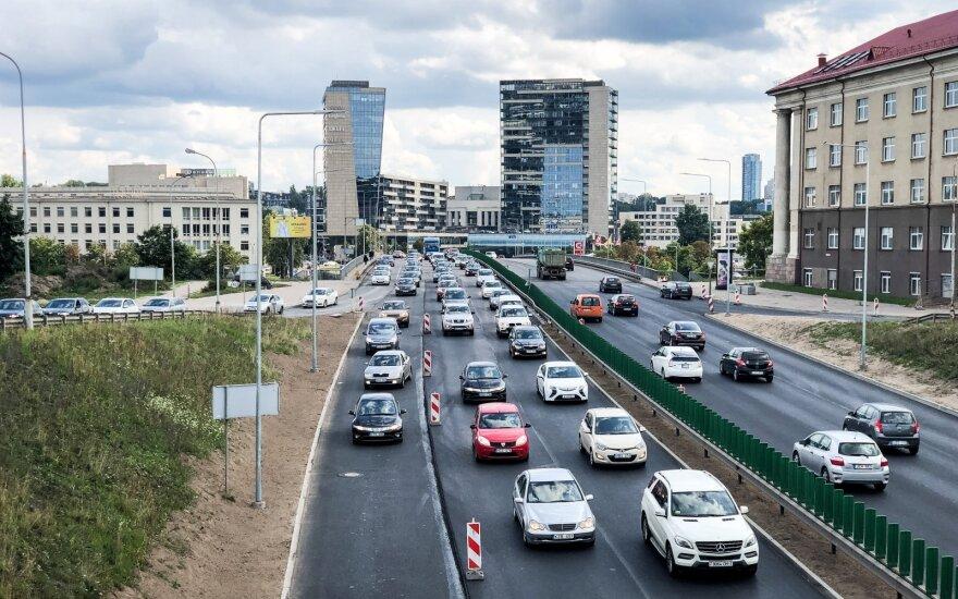 Vilniuje, virš Geležinio Vilko gatvės norima statyti 16-os aukštų verslo centrą