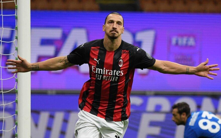 Su amžiumi – tik geresnis: nesenstantis Zlatanas skraidina Milaną ant savo sparnų