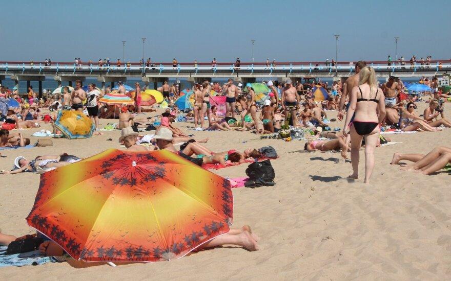 Sinoptikai pateikė savaitgalio prognozę: grįžta kone tropinis karštis