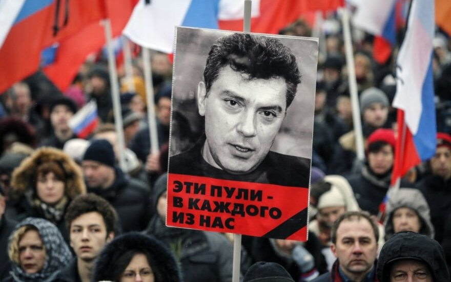 Vladimir Kara-Murza. Žygimantas Pavilionis. Petras Auštrevičius. Atėjo laikas pagerbti Boriso Nemcovo atminimą Vilniuje