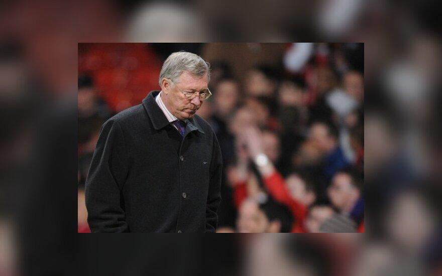 A.Fergusonas nepatenkintas komandos nusiteikimu