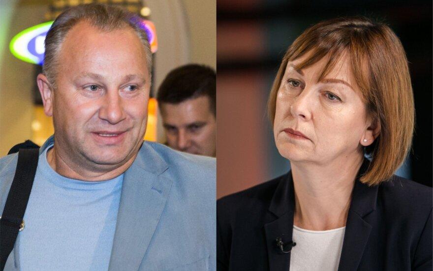 Virginijus Komskis, Rita Miliūtė