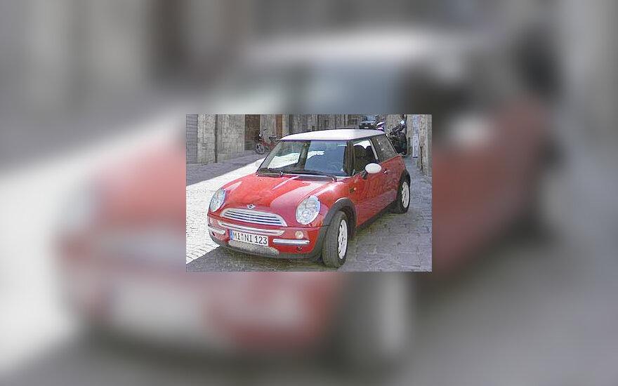 """""""Mini Cooper"""" automobilis"""