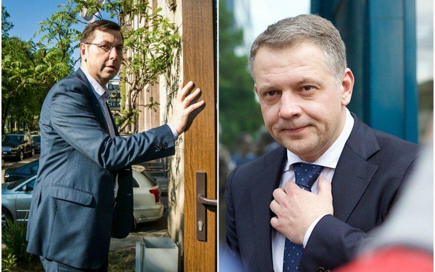 Gintaras Steponavičius ir Eligijus Masiulis