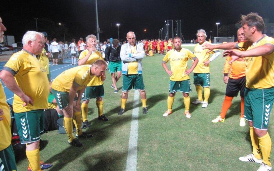Lietuvos atstovai dalyvavo pasaulio medikų futbolo čempionate