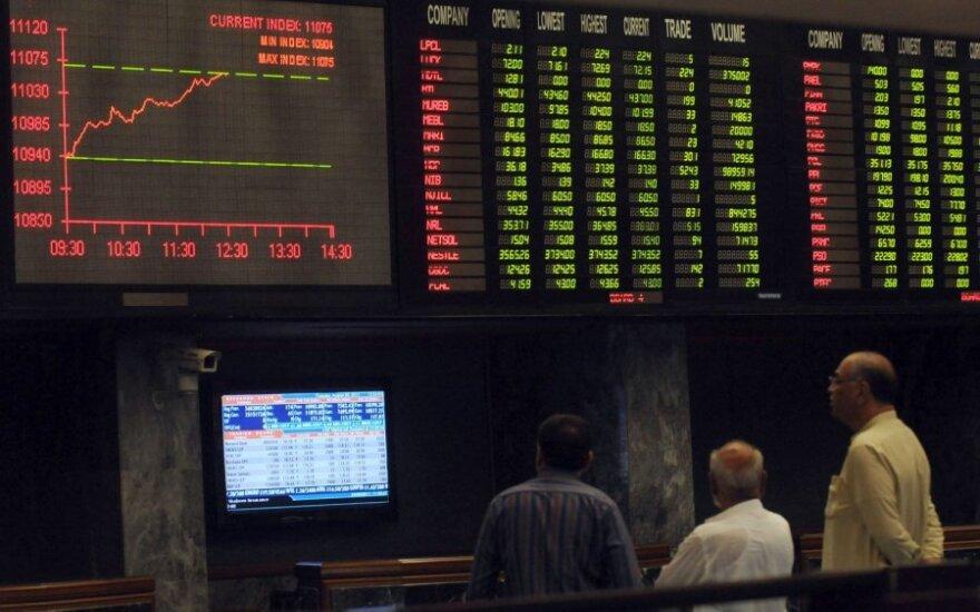 Optimistiškesnės JAV investuotojų nuotaikos