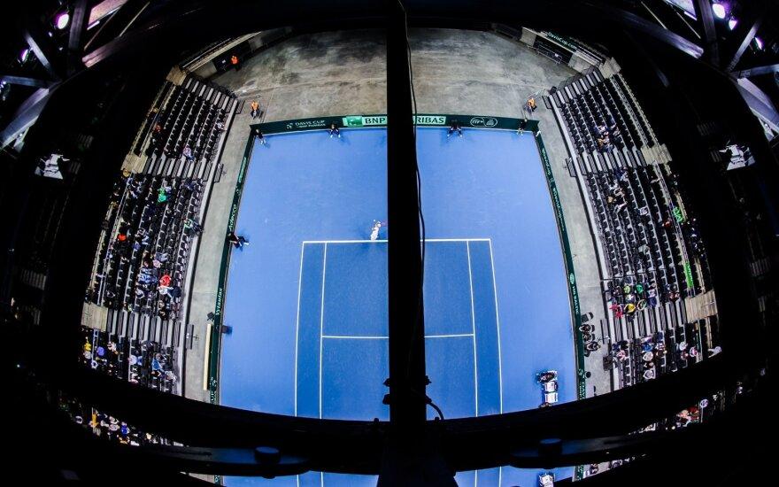H. Traškinas sėkmingai pradėjo teniso turnyro Belgijoje kvalifikaciją
