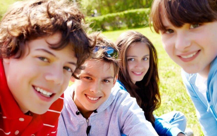 Kurioje Baltijos šalyje vaikai laimingiausi?