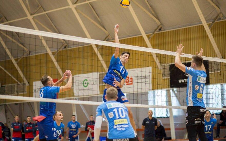 Lietuvos vyrų tinklinio čempionatas / FOTO: SimFoto