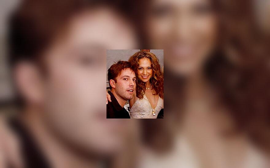 J.Lopez ir B.Affleck