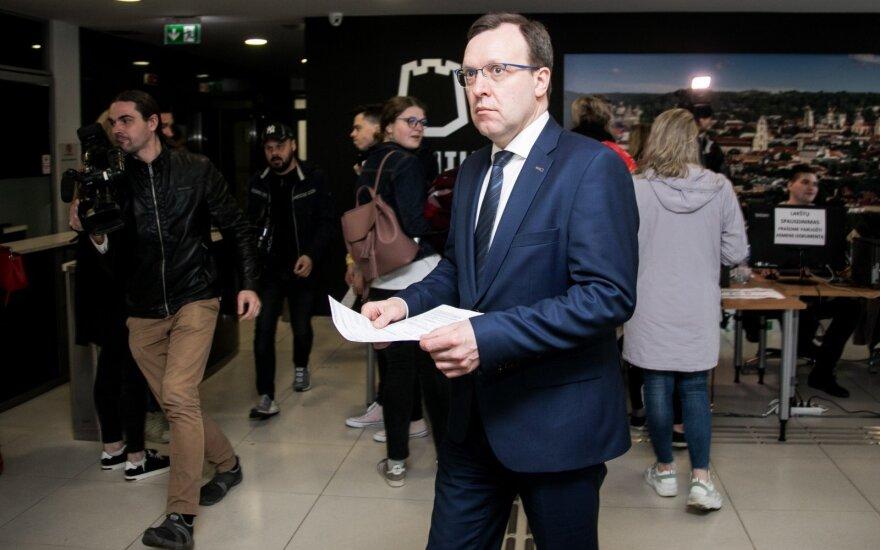 Puteikis atskleidė, už ką balsavo: pareiškė kritiką rinkimų organizatoriams